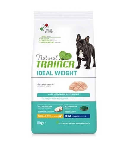 TRAINER DOG NATURAL IDEAL WEIGHT MINI KG.7...