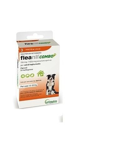FLEANIL COMBO CANI 10-20 KG TAGLIA MEDIA 3 PIP
